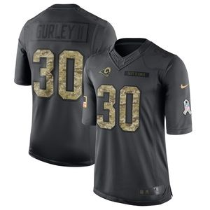 NFL NIKE Gurley Rams 2016 Salute to Service Jersey